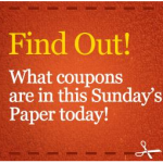 Sunday Coupon Preview for August 14th!