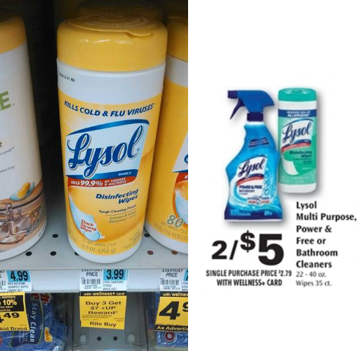 Buy Here Pay Here Ct >> Starting 9/21: 3 FREE Lysol Wipes + $1 Money Maker ...