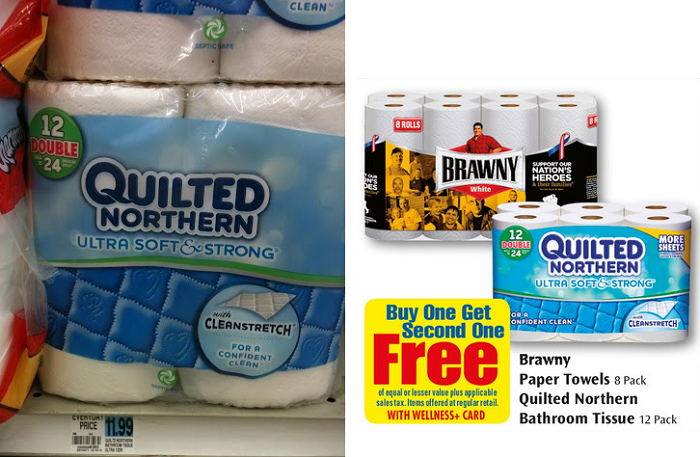 Quilted Northern Deal This Week Get 12 Pack Double Rolls