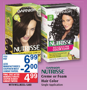 Garnier Nutrisse Hair Color $4.99 With Printable Coupon! - Rite ...
