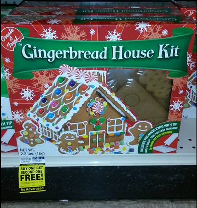 Gingerbread House Kit Rite Aid