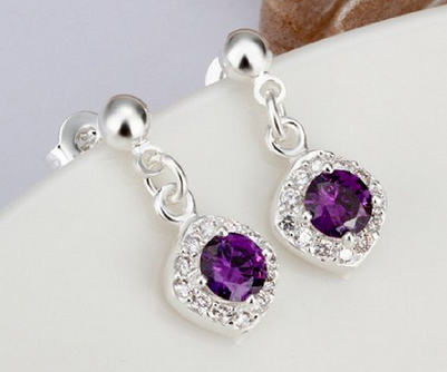 perfect diamonds diamond tw i princess a earrings four basket from of pair setting with ct stud com dangle prong