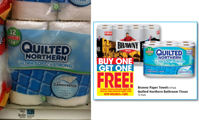 Quilted Northern Bath Tissue 12 Double Rolls Only At Rite Aid Rite Aid Savings