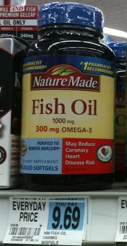 Starting 2 22 at rite aid nature made fish oil for for Rite aid fish oil