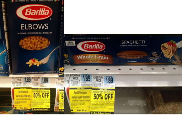 Barilla pasta coupon smartsource