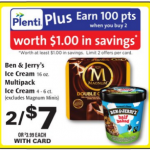 Ben & Jerry's Ice Cream Only $2.50 At Rite Aid