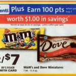 Rite Aid Starting 5/22: M&M Bags Only $2.50