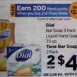 Rite Aid 7/31 Only: Dial Bar Soap 3 Pack Only $0.50!