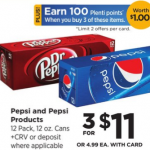 Pepsi Product 12 packs Only $2.83 At Rite Aid
