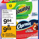 Bounty 12 pk Paper Towels Only $8.94 With Printable Coupon!