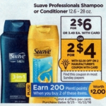 Rite Aid Starting 9/25: Suave Professionals Shampoo or Conditioner Only $0.50!