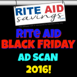 Rite Aid Black Friday 2016 Ad Scan!