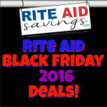 Rite Aid Black Friday Matchups 2016 UPDATED! Who is Ready To Shop?