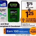 Rite Aid Starting 11/13: Brut or Sure Only $0.75 (NO COUPONS NEEDED)