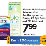 Biotrue Multi-Purpose Solution $4.99 At Rite Aid!
