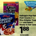 Rite Aid Starting 1/1: Kellogg's Raisin Bran Only $1.38