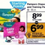 Rite Aid Starting 1/1: STOCK UP Price On Pampers! Get Those Coupons Ready!