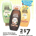 Rite Aid Starting 12/25: Garnier Whole Blends Only $1.50!