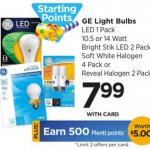 GE Light Bulbs Only $0.99 At Rite Aid