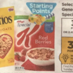 Rite Aid Starting 1/8: Kellogg's Special K Only $1.50