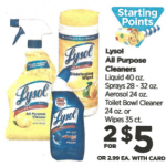 Rite Aid Starting 1/15: Lysol Only $1.50!