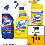 Lysol Products Only $1.49 At Rite Aid