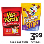 Pup-Peroni Dog Snacks $3.49 At Rite Aid