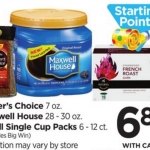 GEVALIA Coffee K-cups Only $5.88 At Rite Aid