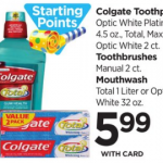Colgate Mouthwash $3.99 At Rite Aid