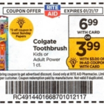 Rite Aid Starting 1/15: Colgate Power Toothbrush Only $1.99!