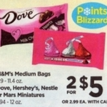 Rite Aid Starting 1/29: M&M's Or Dove Candy $2 Per Bag!