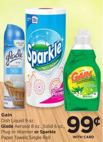 Coupon glade 4$