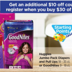 AWESOME Deal On Huggies Diapers This Week! Only $0.99 Per Pack!!