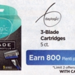Rite Aid Starting 1/29: FREE Daylogic 3 Blade Cartridges 5ct (NO Coupons Needed)