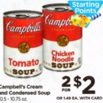 Rite Aid Starting 1/15: Campbell's Soup Only $0.75!