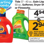 Tide Detergent Only $2.94 At Rite Aid!