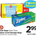 Ziploc Bags $2.49 At Rite Aid This Week