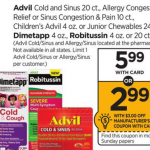 Advil Cold & Sinus $2.99 At Rite Aid!