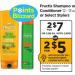 Fructis Shampoo or Conditioner Only $1.50 At Rite Aid